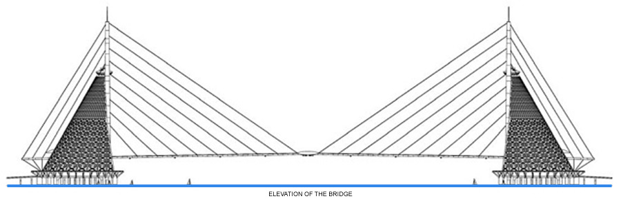 Dragon Pearl Bridge Elevation