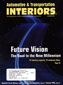 Auto Interiors Magazine December 1999 Issue