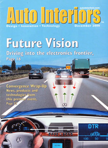 Auto Interiors Magazine December 2000 Issue