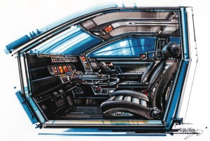 Driver-less Vehicle Interior
