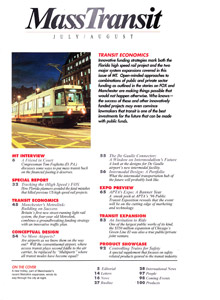 Mass Transit Magazine July/August 1996 Issue