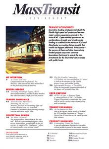 Mass Transit Magazine July/August 1996 Issue