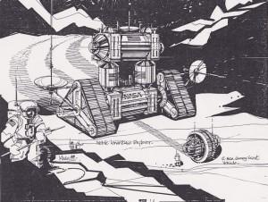 Lunar Explorer Vehicle