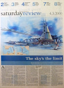 South China Post Newspaper April 2000 Edition