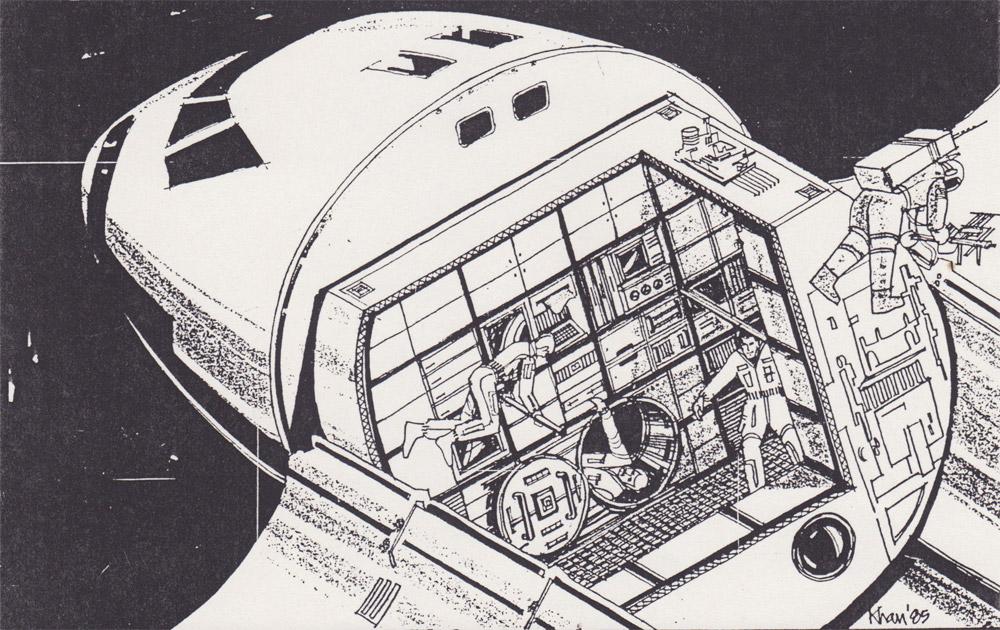 space shuttle interior design - photo #47