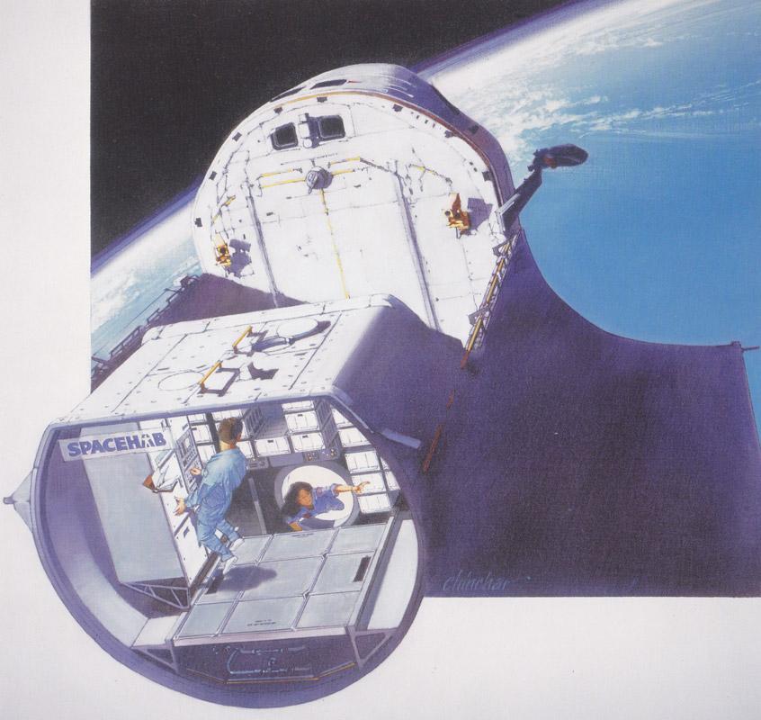 space shuttle interior design - photo #12